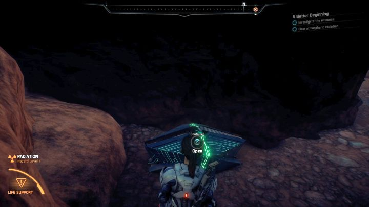 Dont rely solely on indicators on the map since some treasures arent shown on it. - A handful of general tips | Gameplay basics - Gameplay basics - Mass Effect: Andromeda Game Guide