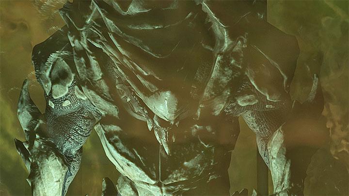 Бегемот - могущественный мутировавший Кроган - Как победить Бегемота на Флагмане Кетта?     Босс борется    Прохождение - Битвы с боссами - Mass Effect: Руководство по игре Andromeda