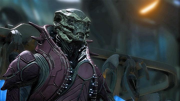 Кетт Кардинал - один из самых могущественных врагов в Mass Effect: Андромеда - Как победить Воэльда Кетта Кардинала?  |  Босс борется |  Прохождение - Битвы с боссами - Mass Effect: Руководство по игре Andromeda