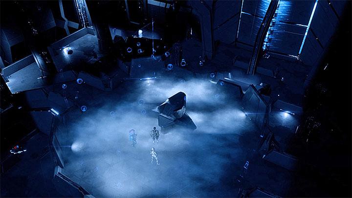 Меч Архонтов появится в командном узле Меридианов - Как победить Меч Архонтов в Меридиане?     Босс борется    Прохождение - Битвы с боссами - Mass Effect: Руководство по игре Andromeda