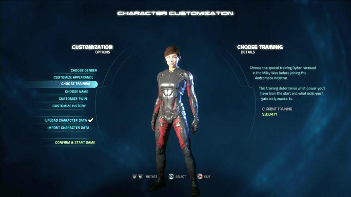 Вы можете настроить внешний вид как своего персонажа, так и его близнеца.  - Создание персонажа в Mass Effect: Andromeda - Персонаж - Mass Effect: Руководство по игре Andromeda