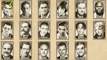 Игра дает вам 16 (17 в специальном издании) персонажей для использования в вашем распоряжении.  - Гангстеры - Тактика - Омерта: Город гангстеров - Руководство по игре и прохождение игры
