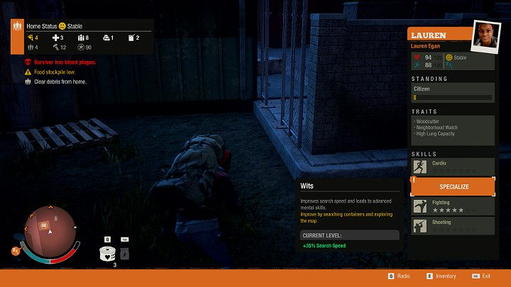 In State of Decay 2 each survivor has certain skills and traits that shape their general abilities - Heroes progression, community, trade   State of Decay 2 - Basic tips   State of Decay 2 - State of Decay 2 Game Guide
