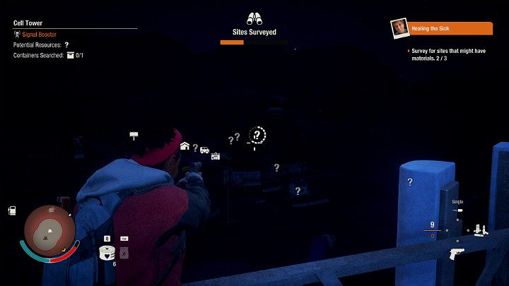 Climb a vantage point and scan which buildings are in your vicinity and what you can find - do this every time before you start exploring in State of Decay 2 - Discovering locations   State of Decay 2 - Basic tips   State of Decay 2 - State of Decay 2 Game Guide