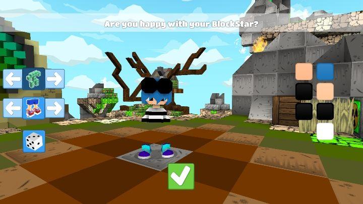Я радикально изменил прическу героев - Шаг 2 - Создание персонажа в BlockStarPlanet - 10 шагов к началу - Руководство по BlockStarPlanet