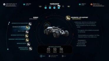 Некоторые из обновлений NOMAD более ценны, чем другие.  - NOMAD - с каких обновлений начинать?  - FAQ - Часто задаваемые вопросы - Mass Effect: Руководство по игре Andromeda