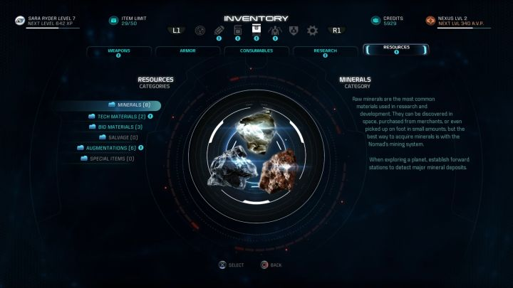 Remember to regularly sell Salvage to acquire huge sums of Credits. - How to earn Credits in Mass Effect: Andromeda? - FAQ - Frequently asked questions - Mass Effect: Andromeda Game Guide
