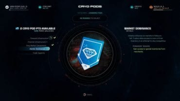 Andromeda viability (AVP) screen where you can open Cryo Pods. - How to get more Cryo Pods in Mass Effect: Andromeda? - FAQ - Frequently asked questions - Mass Effect: Andromeda Game Guide