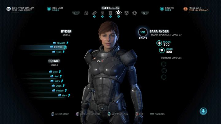 Thanks to that you will be able to spend skill points once again. - How to reset skill points of your character in Mass Effect: Andromeda? - FAQ - Frequently asked questions - Mass Effect: Andromeda Game Guide