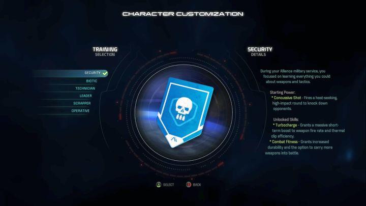 Тренировка безопасности подбора.  - Безопасность    Тренинги - Тренировка персонажей - Mass Effect: Руководство по игре Andromeda