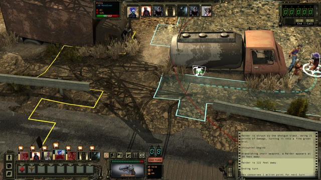 Combat in Wasteland 2 is turn-based - Basic information | Combat - Combat - Wasteland 2 Game Guide & Walkthrough