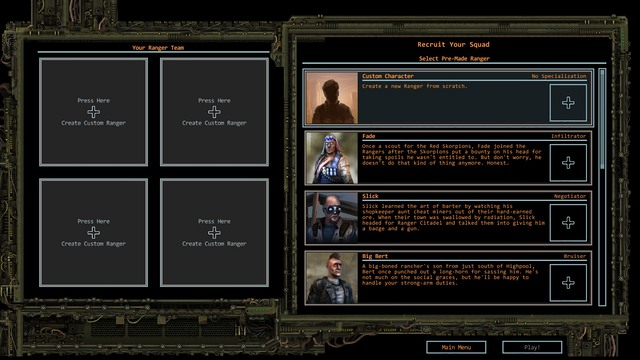 The party may consist of up to four members. - Party forming   Character development - Character development - Wasteland 2 Game Guide & Walkthrough
