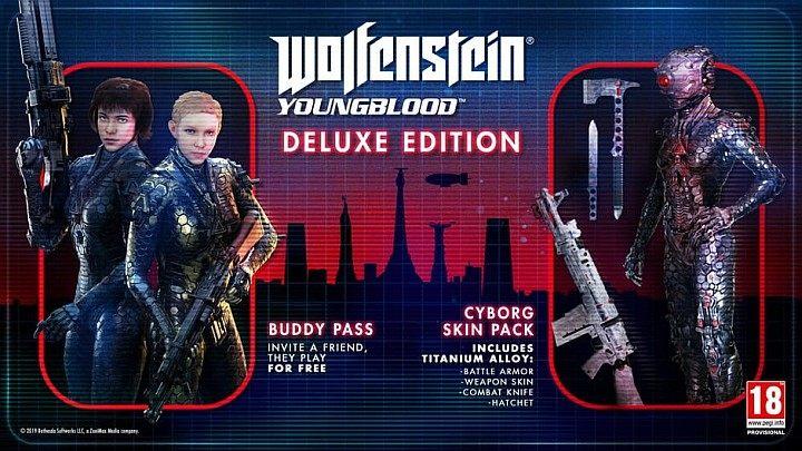 Wolfenstein: Youngblood продается в двух версиях - Standard и Deluxe Edition - Руководство Wolfenstein Youngblood