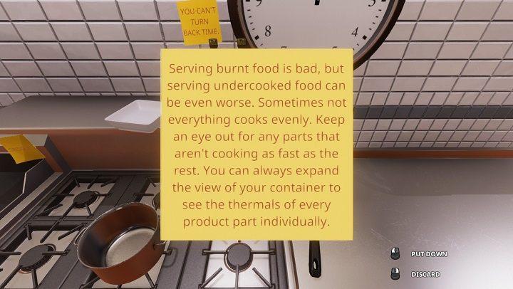Это относится к теме выпечки чего-либо в духовке, потому что без возможности использования Thermal Vision мы не сможем проверить температуру, не открыв дверцу духовки (что, по-видимому, отрицательно влияет на скорость приготовления пищи) - Как эффективно работать в Cooking Simulator - Способности и навыки (разблокировка) - Руководство по Cooking Simulator