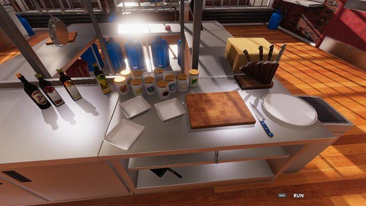 Подготовьте свое рабочее место.  - Подготовка и схема эффективной работы на кухне в Cooking Simulator - Умения и навыки (разблокировка) - Руководство по Cooking Simulator