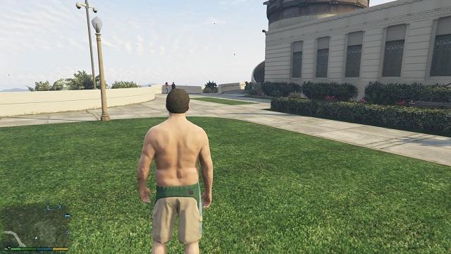 Путь, ведущий к надписи.  - Надписи - Тайна убийства - Руководство по игре Grand Theft Auto V