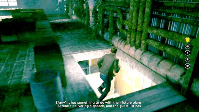 Вы можете найти секретную комнату за вентиляционными трубами.  - Хрононовые источники (акт II) - Секреты - Квантовый прорыв - Руководство по игре и прохождение игры
