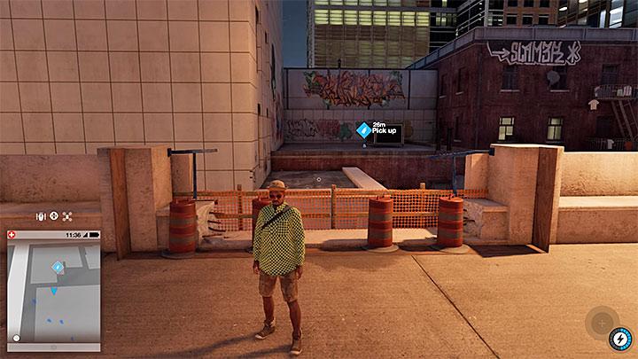 Эта покрасочная работа находится на, казалось бы, недоступной крыше здания - Покраска, одежда и уникальные транспортные средства - Коллекционирование - Руководство по игре Watch Dogs 2