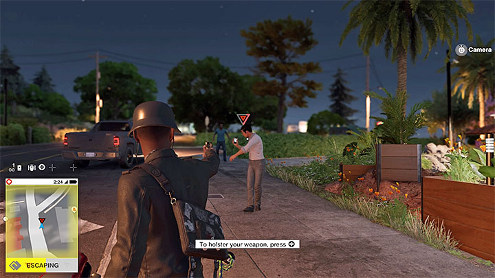 Держите гражданских лиц под дулом пистолета, чтобы заставить их прекратить звонки - Общие советы - Основы - Руководство по игре Watch Dogs 2