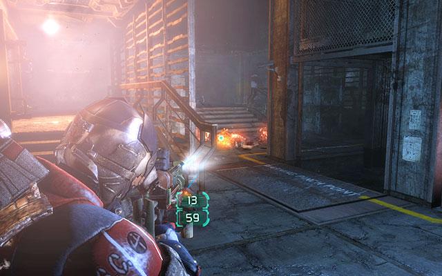 В тот момент, когда вы вызываете лифт, он застрянет на полпути, и вас атаковает орда Некроморфов - отыщите все, что пережило чистку    Побочные миссии: Службы утилизации - Побочные миссии: Службы утилизации - Dead Space 3 Game Guide