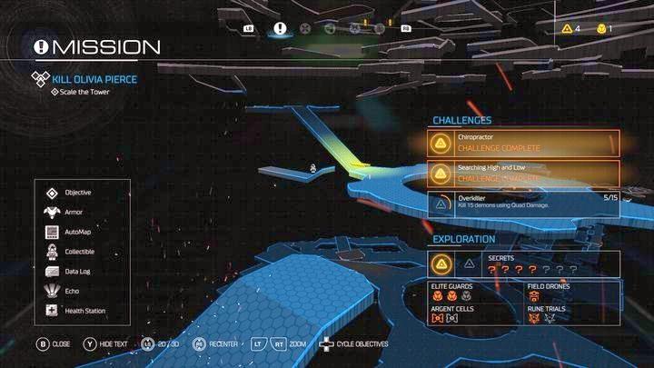 1 - Серебряная Энергетическая Башня |  Секреты - Секреты - Руководство по игре в Doom и прохождение
