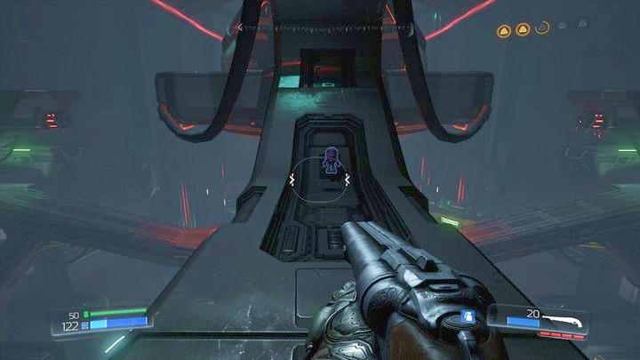 Второй предмет коллекционирования (Purpleguy) спрятан под одним из двух следующих тротуаров - Argent Energy Tower |  Секреты - Секреты - Руководство по игре в Doom и прохождение