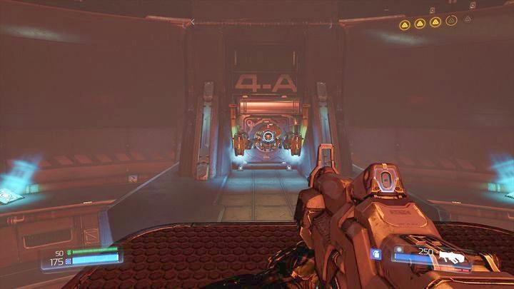 Он доставит вас к платформе с рычагом, который откроет Классическую карту ниже (в том месте, где прячутся дроны) - Энергетическая Башня Аргента |  Секреты - Секреты - Руководство по игре в Doom и прохождение