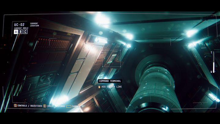 Подключитесь к камерам в модуле UC-02 и войдите в COMMAND TERMINAL - VII.  Джим Элиас    Прохождение Наблюдения - Прохождение - Руководство по Наблюдению