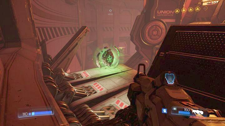 Теперь вы можете развернуться и прыгнуть на этаж выше - Argent Energy Tower |  Секреты - Секреты - Руководство по игре в Doom и прохождение