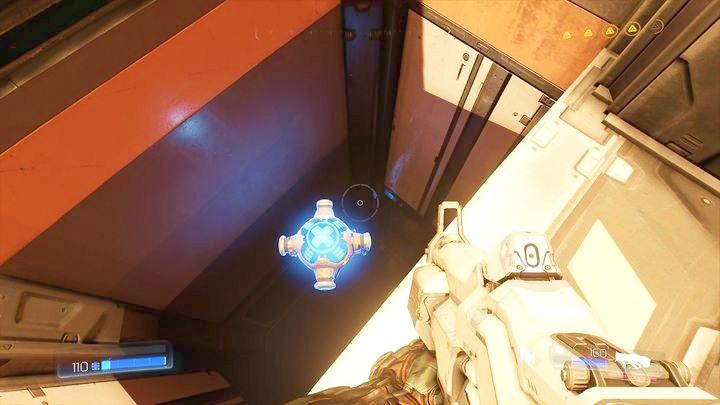 Вернитесь к дыре, через которую вы вышли из туннеля после завершения второго испытания руны - Серебряная энергетическая башня |  Секреты - Секреты - Руководство по игре в Doom и прохождение