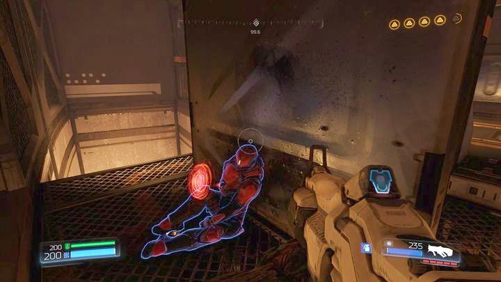 Продолжайте подниматься после сбора Mega Health - Argent Energy Tower |  Секреты - Секреты - Руководство по игре в Doom и прохождение
