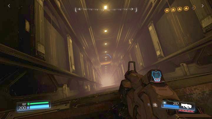 В конце уровня вы достигнете места с высоким лифтовым валом - Argent Energy Tower |  Секреты - Секреты - Руководство по игре в Doom и прохождение