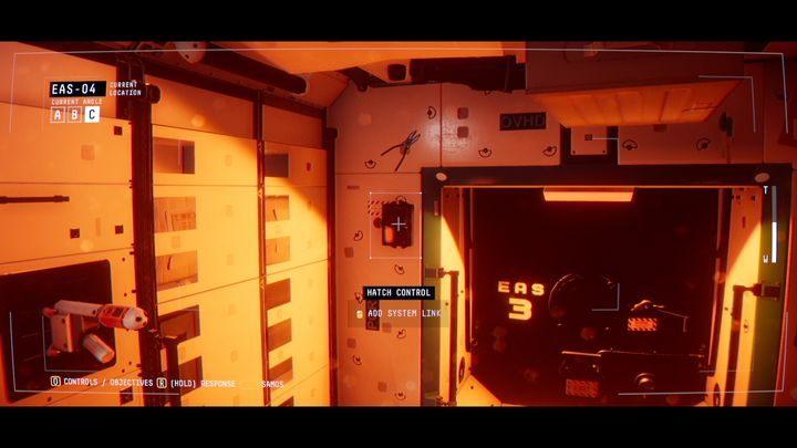 Перейти к модулю EAS-04, навести курсор на огонь - I. Пробуждение    Прохождение Наблюдения - Прохождение - Руководство по Наблюдению