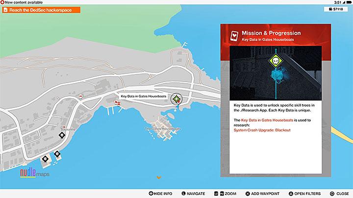 Основные данные отмечены зелеными черепами на карте - Общие советы - Основы - Руководство по игре Watch Dogs 2