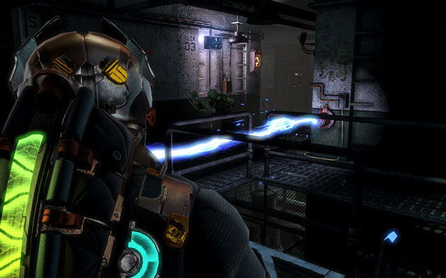Climb down the ladder - youll find a workbench here, where you can leave items found earlier - Disable Edwards traps   Side missions: Conning Tower - Side missions: Conning Tower - Dead Space 3 Game Guide