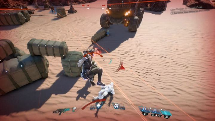 Once youve frozen the enemy, perform a jump melee attack to finish him and get the trophy. - How to unlock the Icebreaker trophy in Mass Effect: Andromeda? - Achievements / Trophies - Mass Effect: Andromeda Game Guide