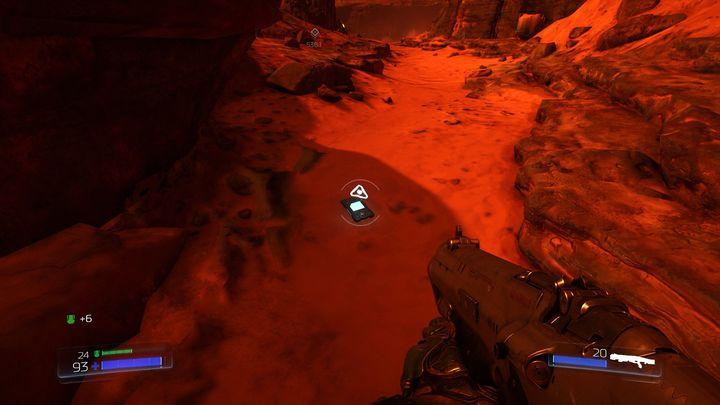 Спрыгнуть сразу после выхода на поверхность - UAC |  Секреты - Секреты - Руководство по игре в Doom и прохождение