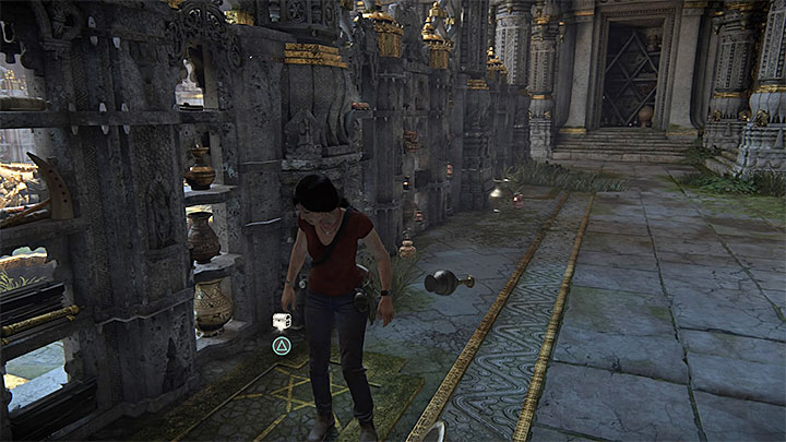 The treasures are in different parts of the library and try to find them before you have examined the altar with a tusk - 7. The Lost Legacy | All Secrets - Secrets - Uncharted: The Lost Legacy Game Guide