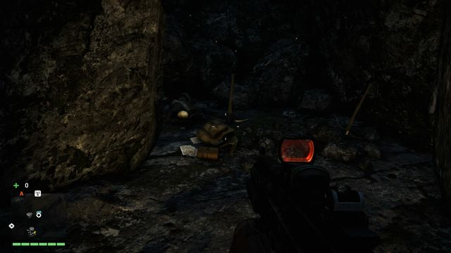 The letter is located inside the cave - Northern and north-eastern Kyrat - Lost Letters - Far Cry 4 - Game Guide and Walkthrough
