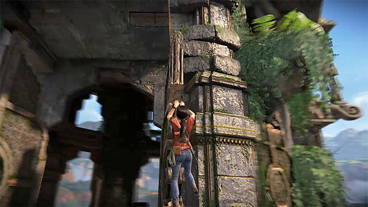 After you get to the top of the tower, open all the doors which, by default, are for revealing all the key locations on the map - Your Prize Trophy | Trophy Guide - Trophy Guide - Uncharted: The Lost Legacy Game Guide