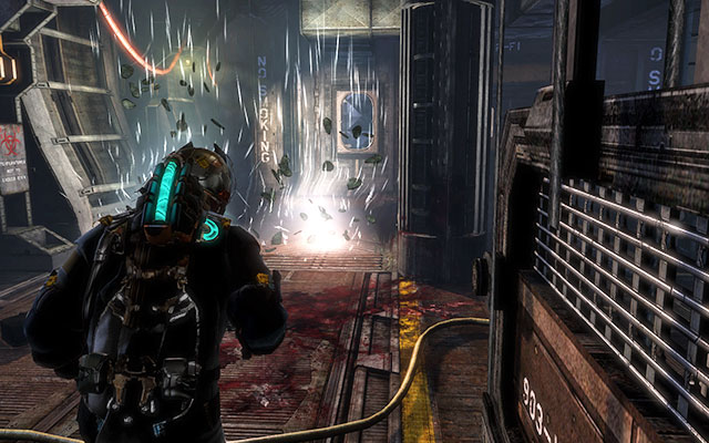 It is time to go back to the start point - Download the encryption codes   Side missions: C.M.S. Greely - Side missions: C.M.S. Greely - Dead Space 3 Game Guide