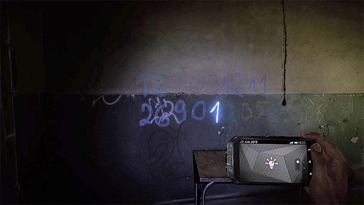 Первая цифра - как бороться с электронной дверью в убежище (черный)?  - Решая головоломки - Get Even Game Guide
