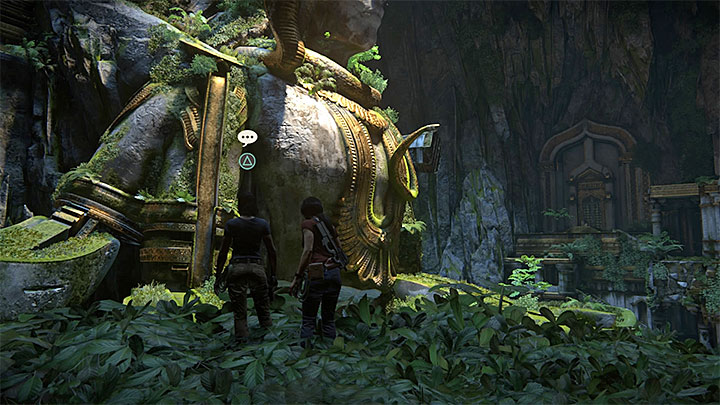 It is easy to miss the second optional conversation with Nadine - 7. The Lost Legacy | All Secrets - Secrets - Uncharted: The Lost Legacy Game Guide