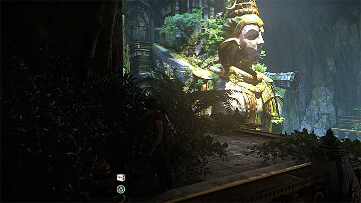 this collectible is also in the upper part of the left ruins - 7. The Lost Legacy | All Secrets - Secrets - Uncharted: The Lost Legacy Game Guide