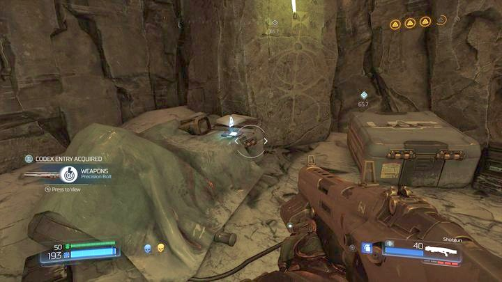Теперь вы можете вернуться к прыжку и использовать его, чтобы вернуться - Kadingir Sanctum |  Секреты - Секреты - Руководство по игре в Doom и прохождение