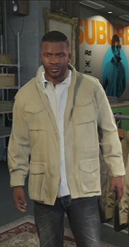 You need a solid jacket for rainy days. - Clothing Stores - Shopping - Grand Theft Auto V Game Guide