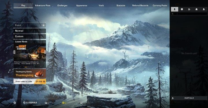 This displays the list of your current friends - Can you play in two-person teams in Ring of Elysium? - FAQ - Ring of Elysium Guide and Tips