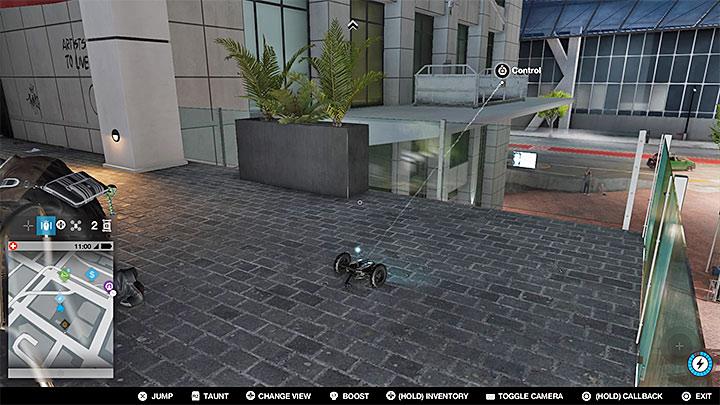 Эту малярную работу можно найти на крыше одного из зданий в центре - Малярные работы, одежда и уникальные транспортные средства - Коллекционирование - Руководство по игре Watch Dogs 2