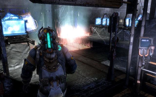 Бегите вперед, пока не доберетесь до грузового лифта - подъезжайте на нем - Загрузите коды шифрования    Побочные миссии: CMS Greely - Побочные миссии: CMS Greely - Dead Space 3 Руководство по игре