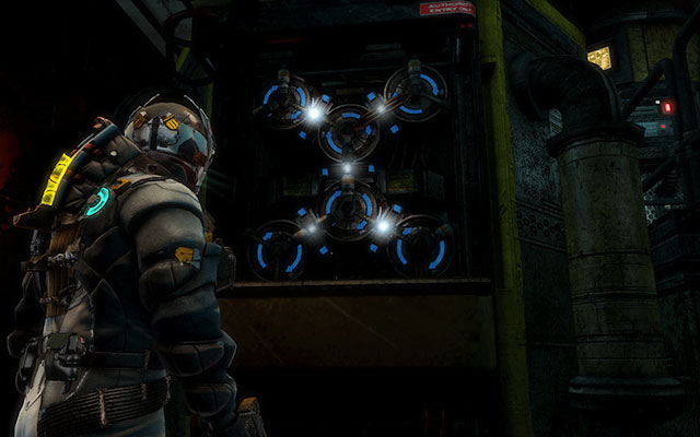 Now youll get to the large room - remember to check all crates and lockers before continuing further - Disable Edwards traps   Side missions: Conning Tower - Side missions: Conning Tower - Dead Space 3 Game Guide